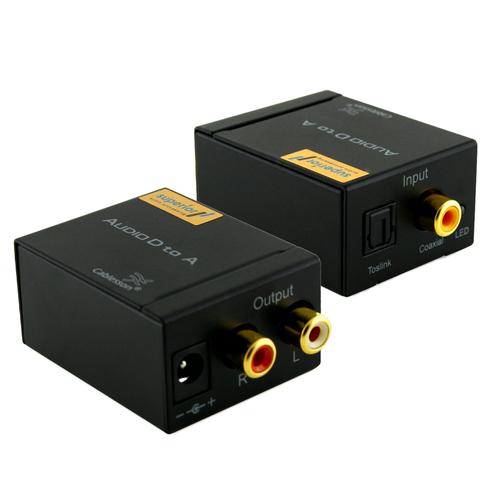 Cablesson SAP- 3 Digital to Analogue Audio Converter (UK)
