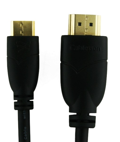 Cablesson Basic High Speed Mini HDMI to HDMI Cable with Ethernet